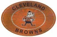 "Cleveland Browns 46"" Heritage Logo Oval Sign"