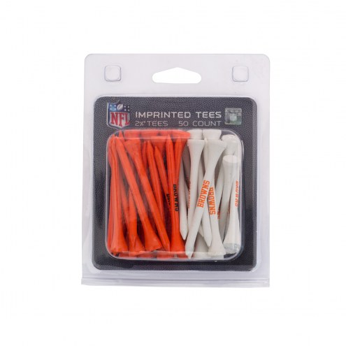 Cleveland Browns 50 Golf Tee Pack