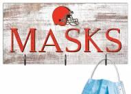 """Cleveland Browns 6"""" x 12"""" Mask Holder"""