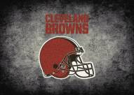 Cleveland Browns 6' x 8' NFL Distressed Area Rug