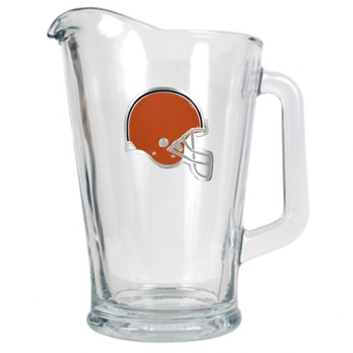 Cleveland Browns 60 Oz. Glass Pitcher - Primary Logo