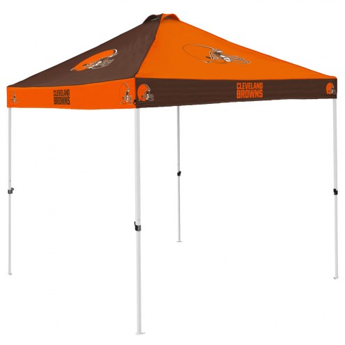 Cleveland Browns 9' x 9' Checkerboard Tailgate Canopy Tent