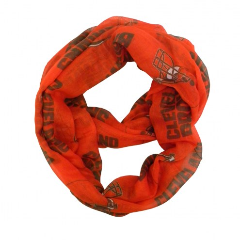 Cleveland Browns Alternate Sheer Infinity Scarf