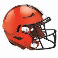Cleveland Browns Authentic Helmet Cutout Sign