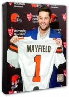 Cleveland Browns Baker Mayfield #1 Draft Pick Photo
