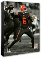 Cleveland Browns Baker Mayfield Spotlight Action Photo