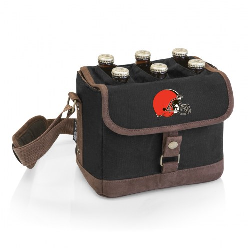 Cleveland Browns Beer Caddy Cooler Tote with Opener