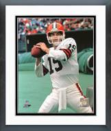 Cleveland Browns Bernie Kosar Action Framed Photo