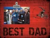 Cleveland Browns Best Dad Clip Frame