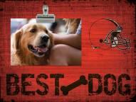Cleveland Browns Best Dog Clip Frame