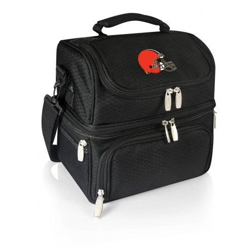 Cleveland Browns Black Pranzo Insulated Lunch Box