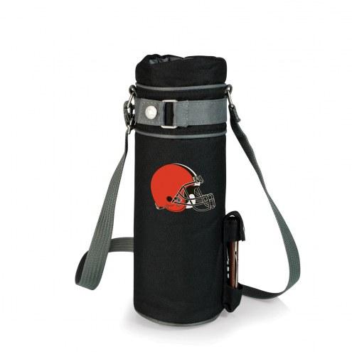 Cleveland Browns Black Wine Sack