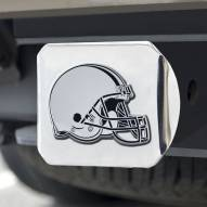 Cleveland Browns Chrome Metal Hitch Cover
