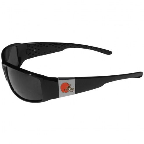 Cleveland Browns Chrome Wrap Sunglasses