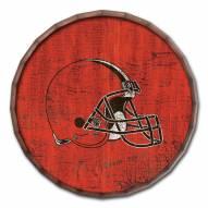 "Cleveland Browns Cracked Color 24"" Barrel Top"