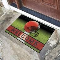 Cleveland Browns Crumb Rubber Door Mat
