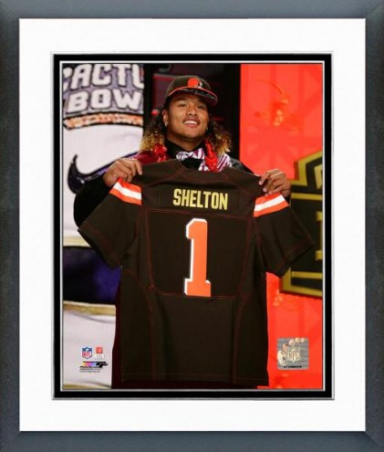 Cleveland Browns Danny Shelton NFL Draft Framed Photo