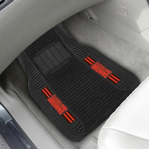 Cleveland Browns Deluxe Car Floor Mat Set