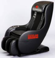 Cleveland Browns Deluxe Gaming Massage Chair