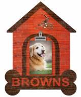 Cleveland Browns Dog Bone House Clip Frame