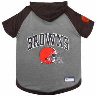 Cleveland Browns Dog Hoodie Tee