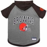 Cleveland Browns Dog Hoodie Tee