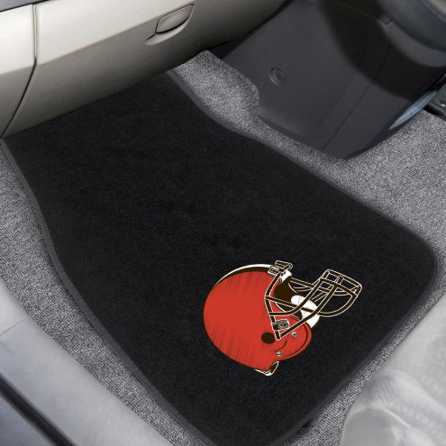 Cleveland Browns Embroidered Car Mats