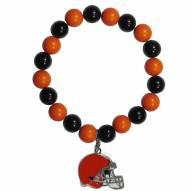 Cleveland Browns Fan Bead Bracelet