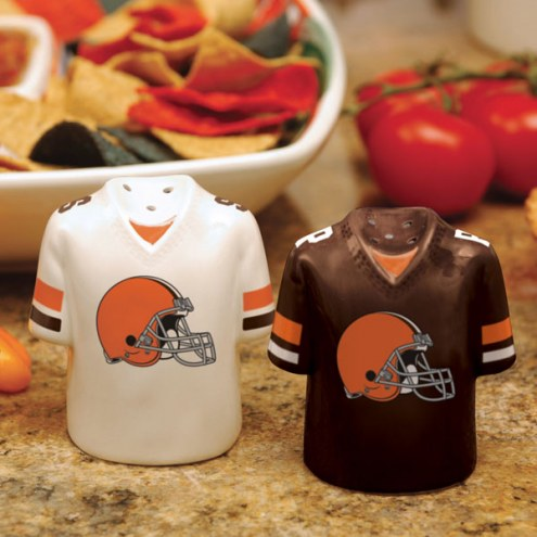 Cleveland Browns Gameday Salt and Pepper Shakers