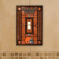 Cleveland Browns Glass Single Light Switch Plate Cover