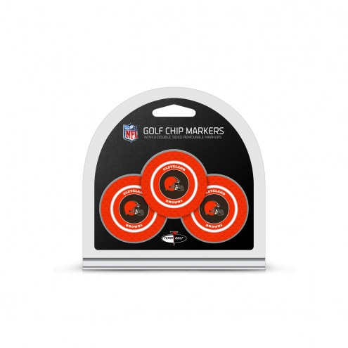 Cleveland Browns Golf Chip Ball Markers