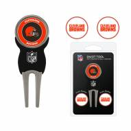 Cleveland Browns Golf Divot Tool Pack
