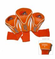Cleveland Browns Golf Headcovers - 3 Pack