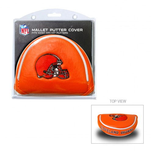 Cleveland Browns Golf Mallet Putter Cover