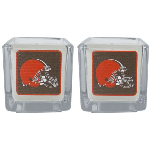 Cleveland Browns Graphics Candle Set