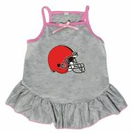 Cleveland Browns Gray Dog Dress