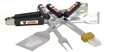 Cleveland Browns Grill Tool Set