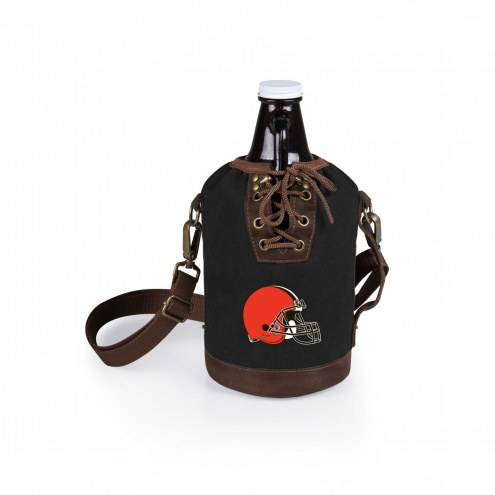 Cleveland Browns Growler Tote with Growler