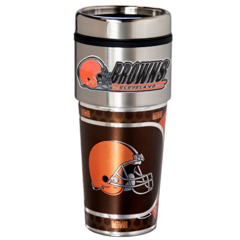 Cleveland Browns Hi-Def Travel Tumbler
