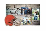Cleveland Browns I Love My Family Clip Frame