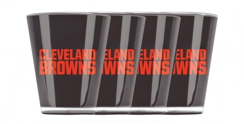 Cleveland Browns Insulated Acrylic Shot Glass Set