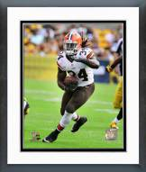 Cleveland Browns Isaiah Crowell Action Framed Photo