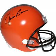 Cleveland Browns Jim Brown Signed Full Size Replica Helmet