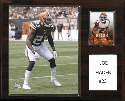 "Cleveland Browns Joe Haden 12"" x 15"" Player Plaque"