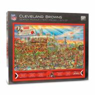 Cleveland Browns Joe Journeyman Puzzle