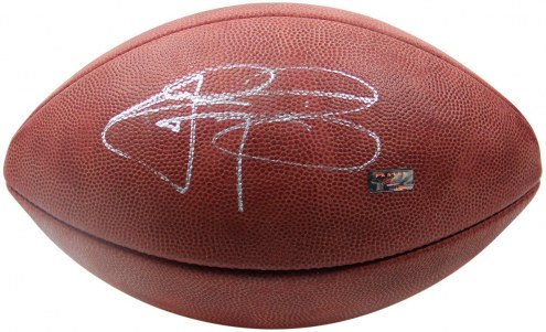 Cleveland Browns Johnny Manziel Signed Official Authentic NFL Football