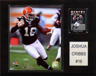 "Cleveland Browns Joshua Cribbs 12 x 15"" Player Plaque"