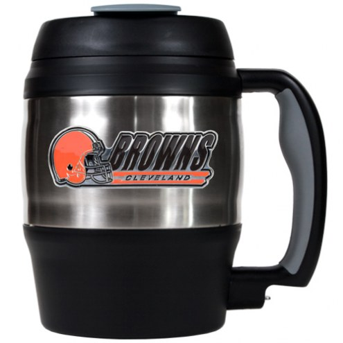 Cleveland Browns Jumbo 52 oz. Travel Mug