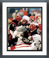 Cleveland Browns Kevin Mack Action Framed Photo