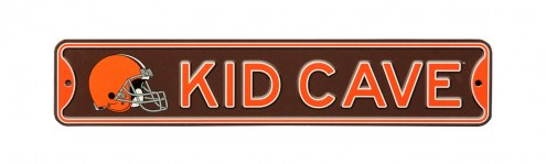 Cleveland Browns Kid Cave Street Sign